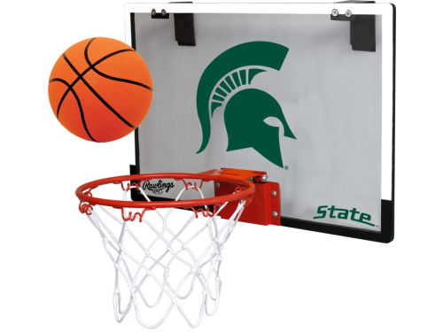 Michigan State Spartans Jarden Sports Game On Polycarb Hoop Set