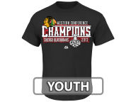 Majestic NHL Youth Rising Star Conference Champs T-Shirt T-Shirts