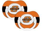 Oklahoma State Cowboys Pacifier 2 pack Newborn & Infant