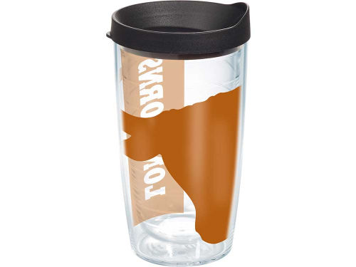 Texas Longhorns Tervis Tumbler 16oz. Colossal Wrap Tumbler with Lid
