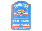 Oklahoma City Thunder Wincraft 11x17 Wood Sign Flags & Banners