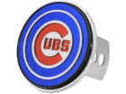 Chicago Cubs Rico Industries Laser Hitch Cover Auto Accessories