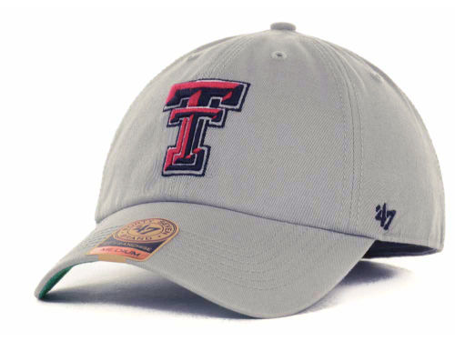 Texas Tech Red Raiders NCAA Grey '47 FRANCHISE Cap Hats