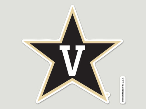 Vanderbilt Commodores Wincraft Die Cut Color Decal 8in X 8in