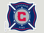 Chicago Fire Wincraft Die Cut Color Decal 8in X 8in Bumper Stickers & Decals