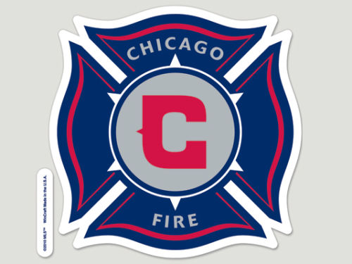 Chicago Fire Wincraft Die Cut Color Decal 8in X 8in