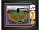 Atlanta Braves Highland Mint Photo Mint Coin-Bronze Collectibles