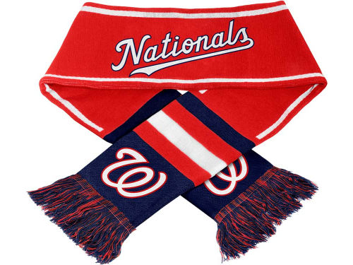 Washington Nationals Forever Collectibles 2013 Wordmark Acrylic Knit Scarf