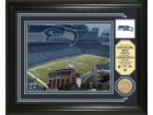 Seattle Seahawks Highland Mint Photo Mint Coin-Bronze Collectibles