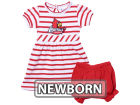 Louisville Cardinals NCAA Newborn Stripe Dress Infant Apparel