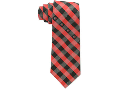 Portland Trail Blazers Eagles Wings Polyester Checked Tie