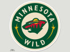Minnesota Wild Wincraft Die Cut Color Decal 8in X 8in Bumper Stickers & Decals