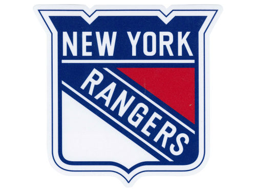 New York Rangers Wincraft Die Cut Color Decal 8in X 8in