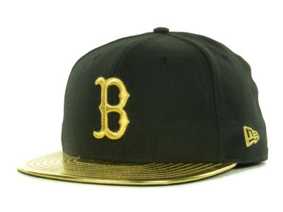 Boston Red Sox MLB 59th Anniversary Gold 59FIFTY Cap Hats