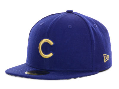 Chicago Cubs MLB 59th Anniversary Team 59FIFTY Cap Hats
