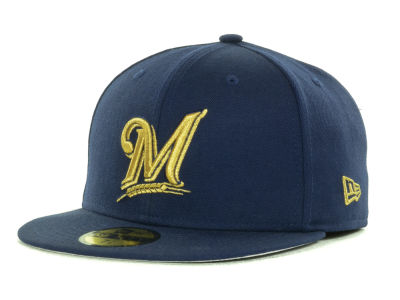 Milwaukee Brewers MLB 59th Anniversary Team 59FIFTY Cap Hats