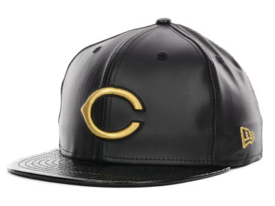 Cincinnati Reds MLB 59th Anniversary Crocodile 59FIFTY Cap Hats