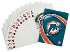 Miami Dolphins Hunter Manufacturing Playing Cards Collectibles