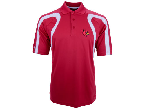 Louisville Cardinals Antigua NCAA Point Polo