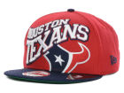 Houston Texans New Era NFL Swoopty 9FIFTY Snapback Cap Adjustable Hats