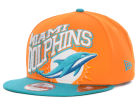 Miami Dolphins New Era NFL Swoopty 9FIFTY Snapback Cap Adjustable Hats