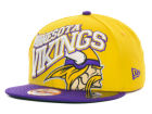 Minnesota Vikings New Era NFL Swoopty 9FIFTY Snapback Cap Adjustable Hats