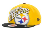 Pittsburgh Steelers New Era NFL Swoopty 9FIFTY Snapback Cap Adjustable Hats