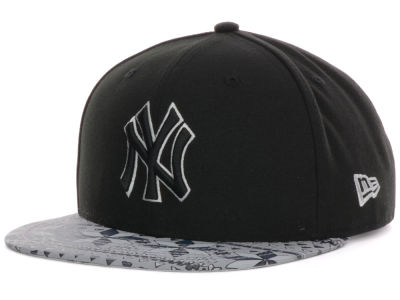 New York Yankees MLB Snowflect 9FIFTY Strapback Cap Hats
