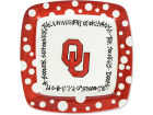 Oklahoma Sooners Square Plate Gameday & Tailgate