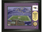 Baltimore Ravens Highland Mint Photo Mint Coin-Bronze Collectibles