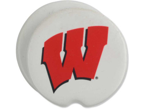 Wisconsin Badgers 2 Pack Car Coasters