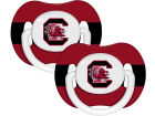 South Carolina Gamecocks 2-pack Pacifier Set Newborn & Infant