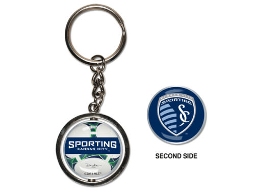 Sporting Kansas City Wincraft MLS Spinning Keychain