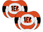 Cincinnati Bengals 2-pack Pacifier Set Newborn & Infant