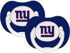 New York Giants Pacifier 2 pack Newborn & Infant