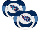 Tennessee Titans Pacifier 2 pack Newborn & Infant
