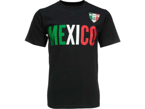 Mexico Dynasty Soccer Country Graphic T-Shirt