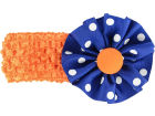 Florida Gators Crocheted Headband with Rosette Headbands & Wristbands