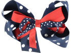 Mississippi Rebels NCAA Bow Barrette Apparel & Accessories