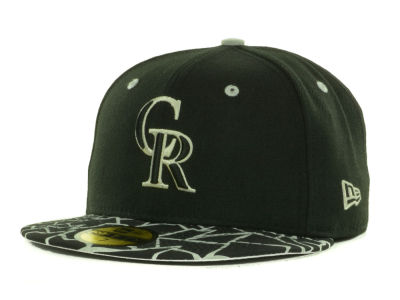 Colorado Rockies MLB Pop Crackle 59FIFTY Cap Hats