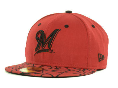 Milwaukee Brewers MLB Pop Crackle 59FIFTY Cap Hats