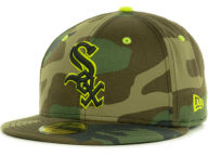 New Era MLB Camo Pop 59FIFTY Cap Fitted Hats