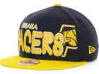 Indiana Pacers New Era NBA Hardwood Classics Open Court 9FIFTY Snapback Cap Adjustable Hats