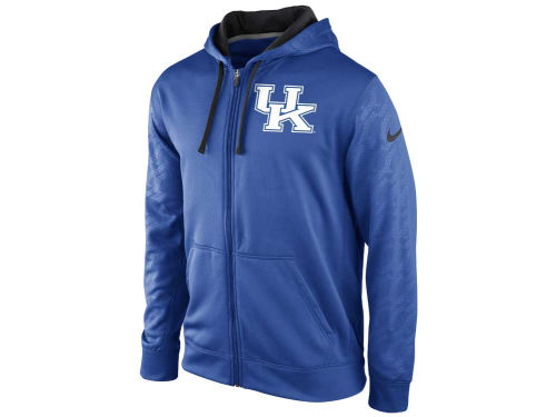 Kentucky Wildcats Nike NCAA KO Full Zip Hoody 13