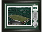 New York Jets Highland Mint Photo Mint Coin-Bronze Collectibles