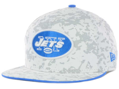New York Jets NFL Snow'd Camo 59FIFTY Cap Hats