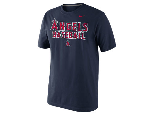 Los Angeles Angels of Anaheim Nike MLB Men's Practice T-Shirt
