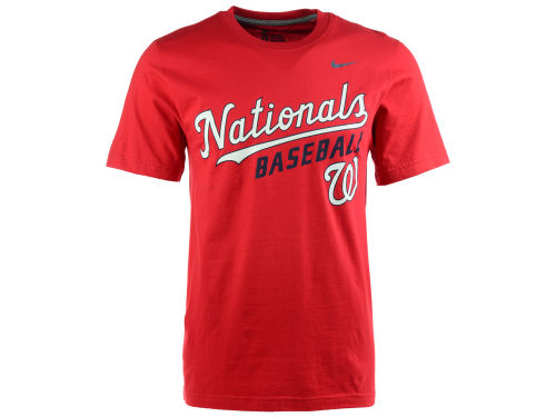 Washington Nationals Nike MLB Men's Practice T-Shirt