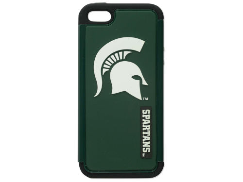 Michigan State Spartans Forever Collectibles Iphone 5 Dual Hybrid Case