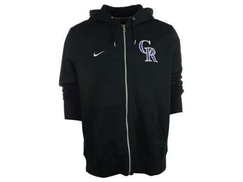 Colorado Rockies Nike MLB Men's Classic Full Zip Hoodie